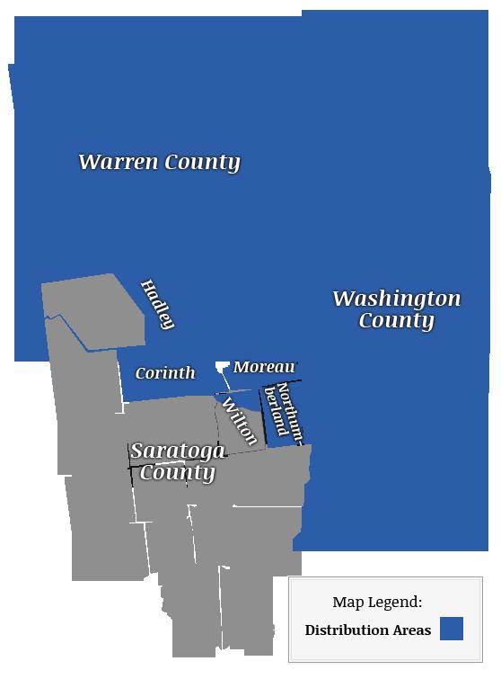Corinth Washington Map.Map 2 Fitzgerald Bros